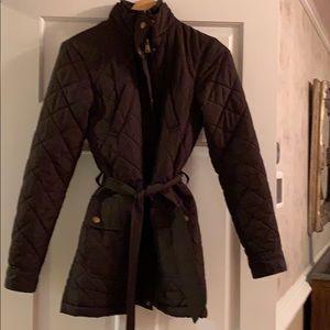 Lauren- Ralph Lauren brown quilted coat